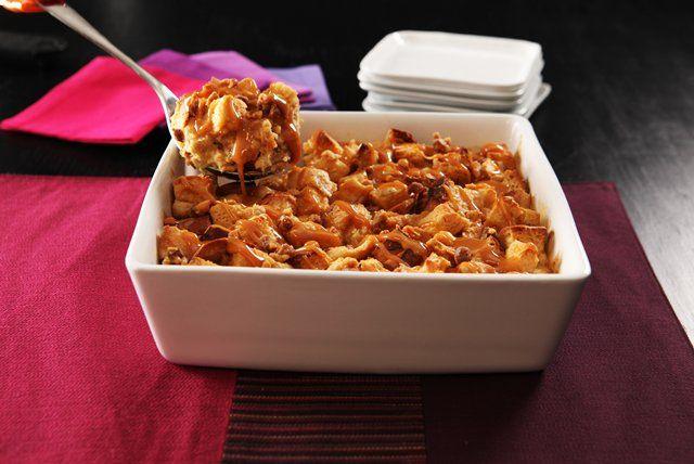 Le beurre d'arachide crémeux KRAFT et les caramels KRAFT sont les principaux ingrédients de ce divin dessert!