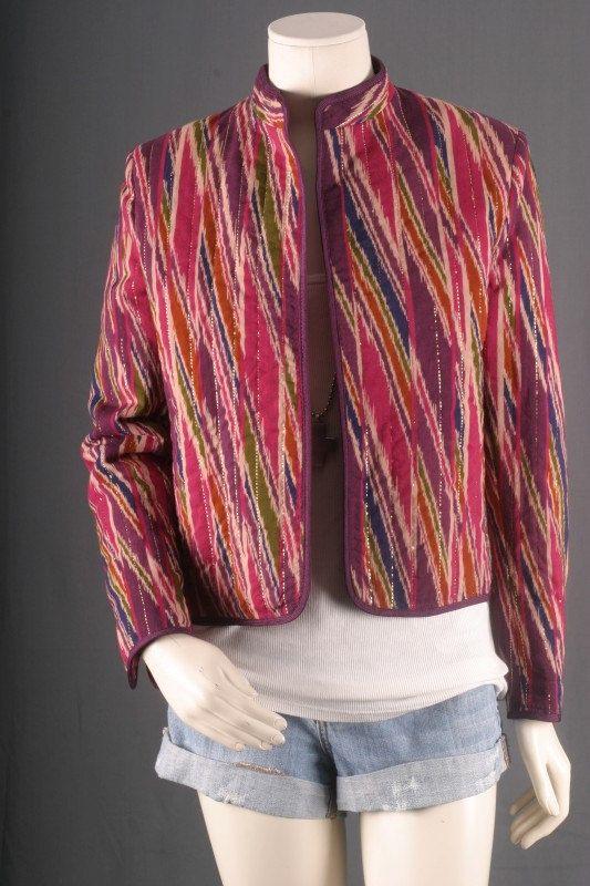 Batik Jacket Tie Dye Kimono Duster Coat Blazer by sparrowlyn, $75.00
