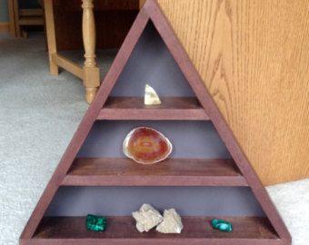 Triangle minimaliste humeur Tablette étagère en par MakersEyes