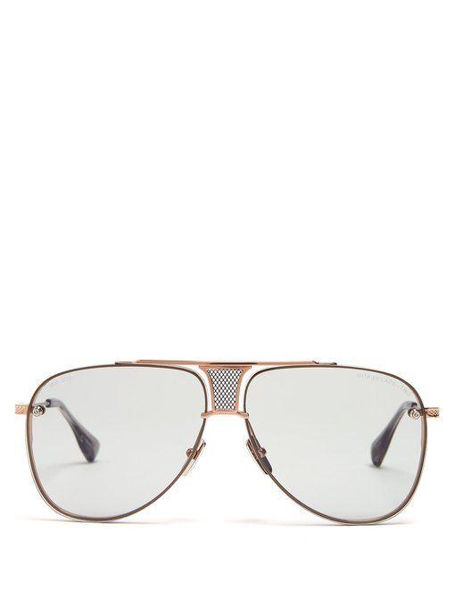 7cb83cddaf6a DITA EYEWEAR Decade Two aviator sunglasses.  ditaeyewear
