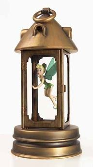 Tink in lantern - peter pan bedroom | Peter Pan/Captain Hook Themed Bedroom... Can I have this too?