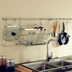 Sturdy and Durable Stainless Steel Kitchen Shelf - Item #: KIT0602007