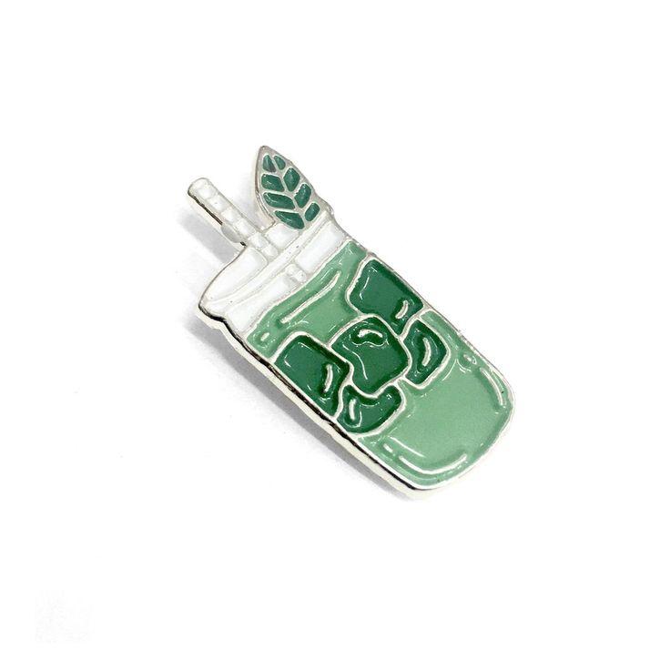 Green Tea Matcha Pin