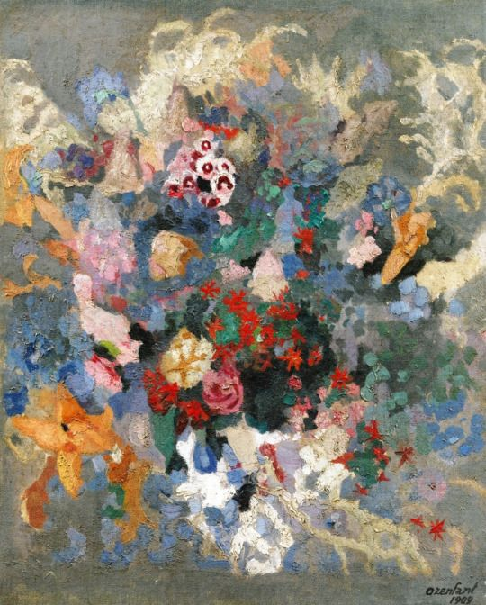 Bouquet of Flowers Amédée Ozenfant - 1909