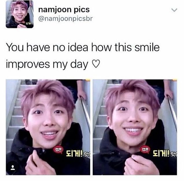 Aww namjoon saranghae