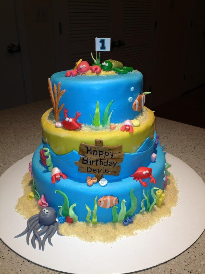 our latest Ocean Cake #bostoncakes by @Vanessa Samurio Worrall Nguyen