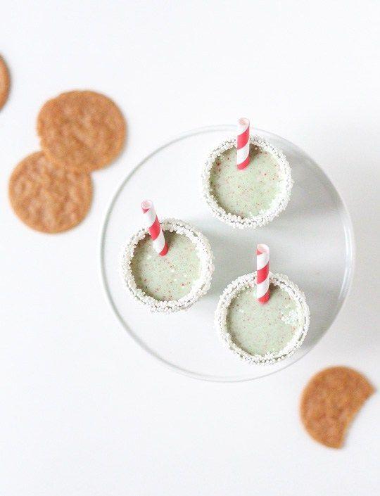 christmas cookie ice cream shots - Sugar & Cloth - Recipe