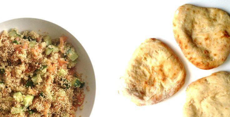 pitabroodjes met quinoasalade