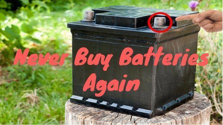 Pin on sealed lead acid battery maintenance
