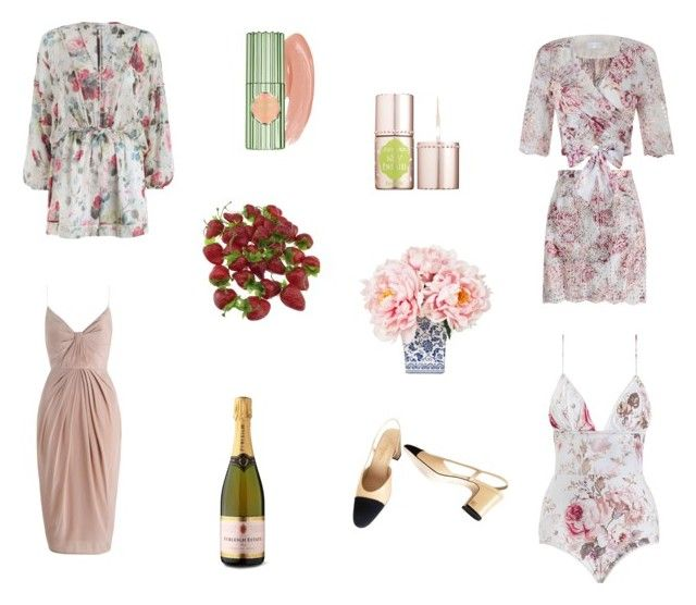 spring/ summer must haves by zoe-alexa-robinson on Polyvore featuring Zimmermann, Chanel and Benefit