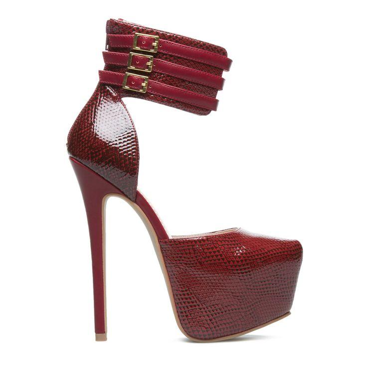 Shoe Carnival Burgundy Heels