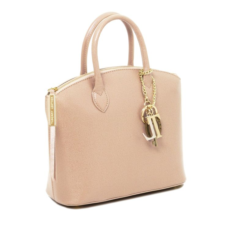 TL KeyLuck - Saffiano leather tote - Small size - TL141265 – Rehana.co