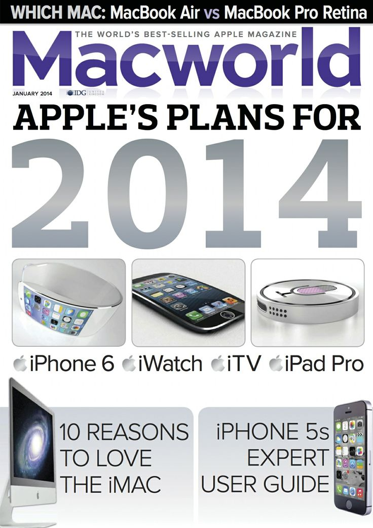 Apple 2014?! Predictions by MacWorld UK 2014-01 • iPads: http: