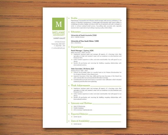 microsoft word lebenslauf vorlage melanie mokodompit 3 diy resume bearbeitbare resume ms - Word Lebenslauf Vorlage
