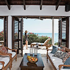 Our 50 Prettiest Island Rooms | Outdoor Living Room | CoastalLiving.com