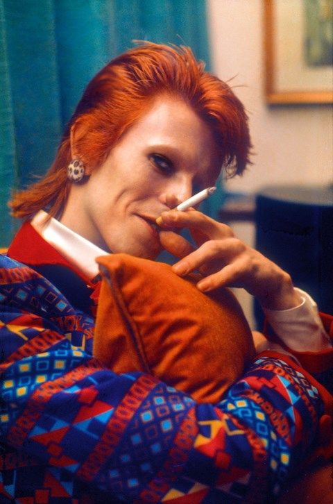 How ironic some of his best pictures feature the thing that took him from us, cigarettes. I quit smoking 10 years ago and I'm glad I did.