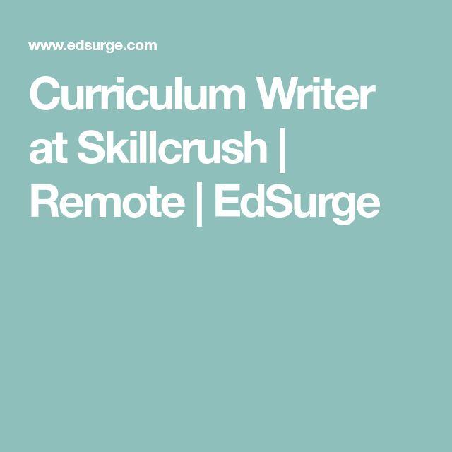 Curriculum Writer at Skillcrush | Remote | EdSurge