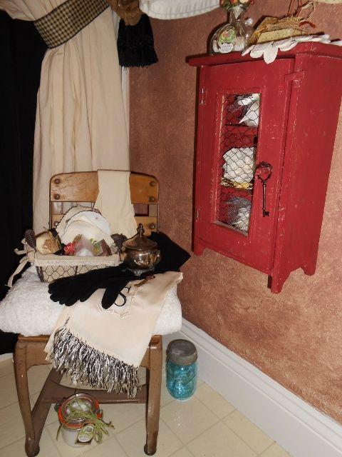 Rustic Country Bathroom Decor Bradley Was On His Way To