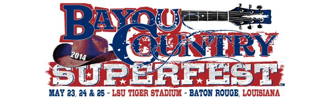 Bayou Country Superfest May LSU Tiger Stadium Baton Rouge, Louisiana