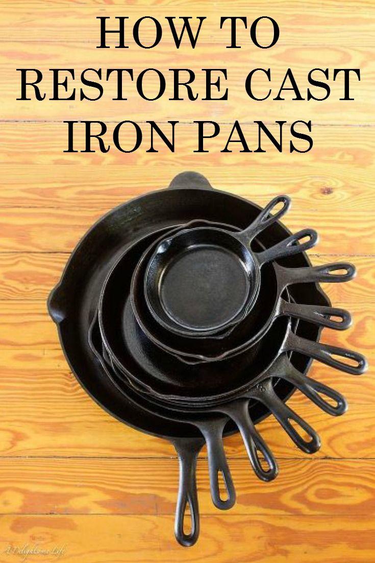 restoring cast iron pans back to the o 39 jays and love. Black Bedroom Furniture Sets. Home Design Ideas