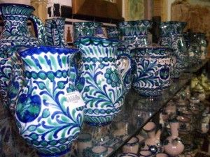 Typical pottery from Granada