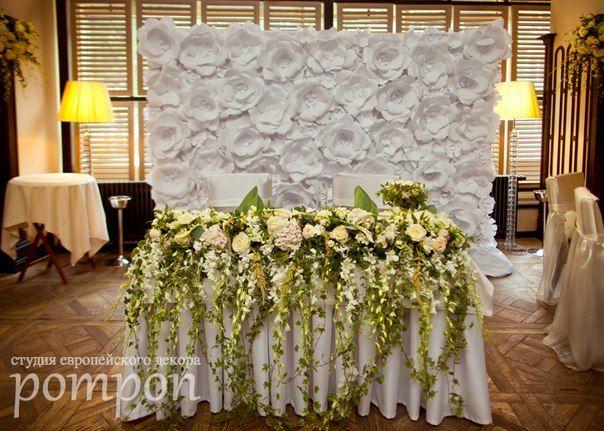 стена из бумажных цветов - Поиск в Google