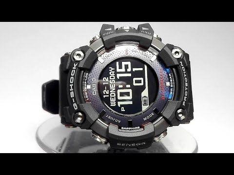 853f0c95e Casio G-Shock Rangeman GPR-B1000-1ER GPS Navigation Bluetooth Solar watch