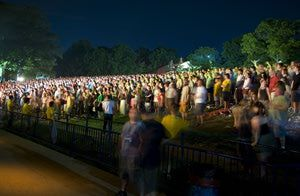 Merriweather Post Pavilion - Outdoor Concerts in Columbia, Maryland