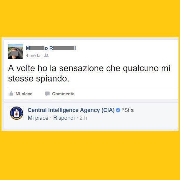 """Mi piace"": 103.3 mila, commenti: 536 - Tua madre è Leggenda (@tmlplanet) su Instagram: ""Dormi tranquillo. #tmlplanet #pensieri #ansia #facebook #CIA #usa #statiuniti"""