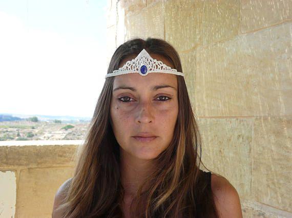 Guarda questo articolo nel mio negozio Etsy https://www.etsy.com/it/listing/544746805/gioielli-lapis-lazuli-diadema-celtico