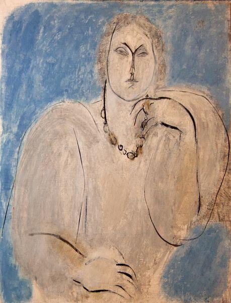 Ion Nicodim (1932–2007), Portret de femeie