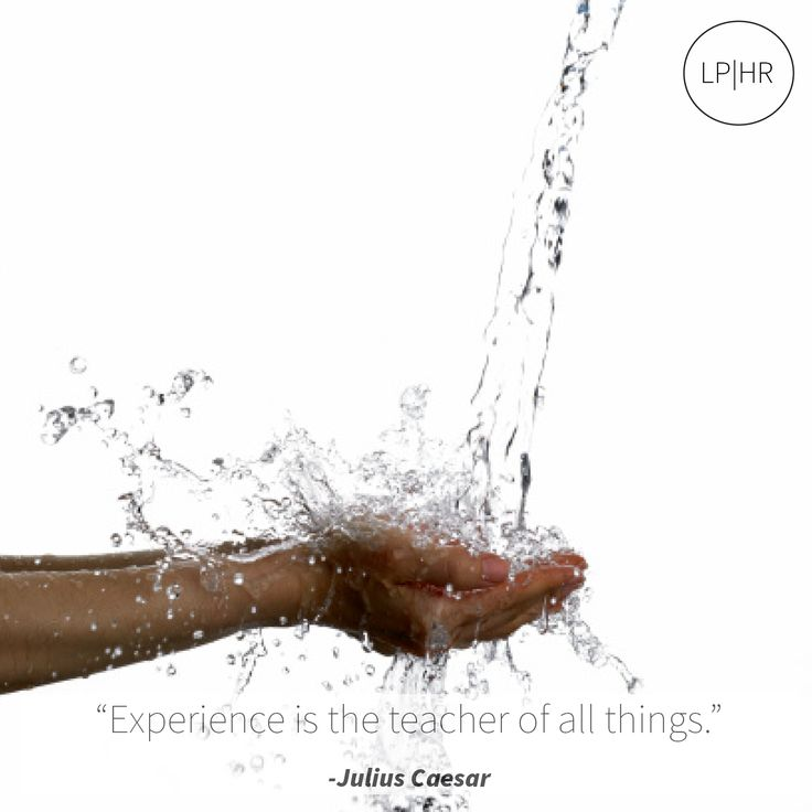 #Experience is the #teacher of all things. // @JuliusCaesar #Learn