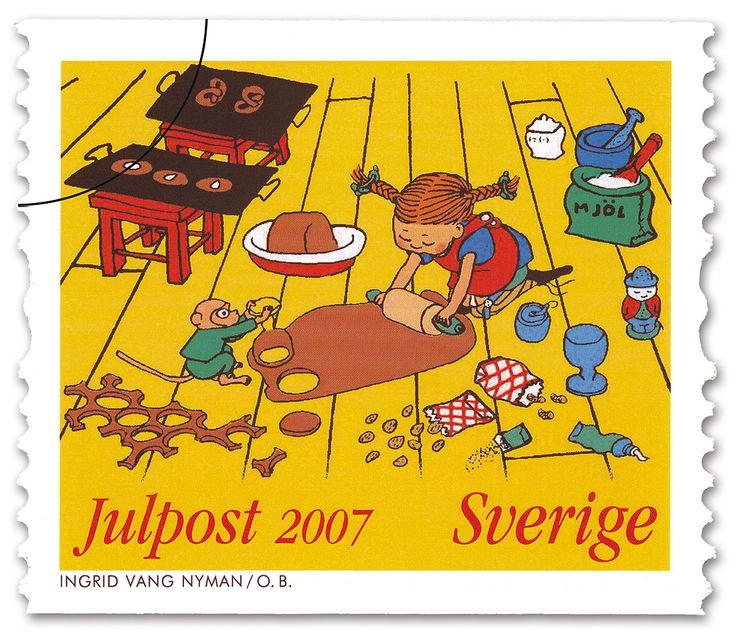 Una Pagina de Cine 1969 Pippi Langstrump - Pippi Longstocking (sue) (stamp) 01.jpg