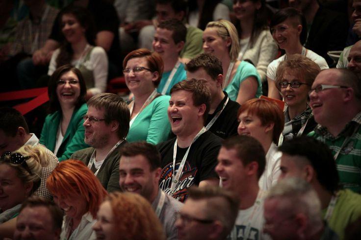 Czym tym razem Michał rozśmieszył uczestników?   Zdjęcie: Maciek Szustak