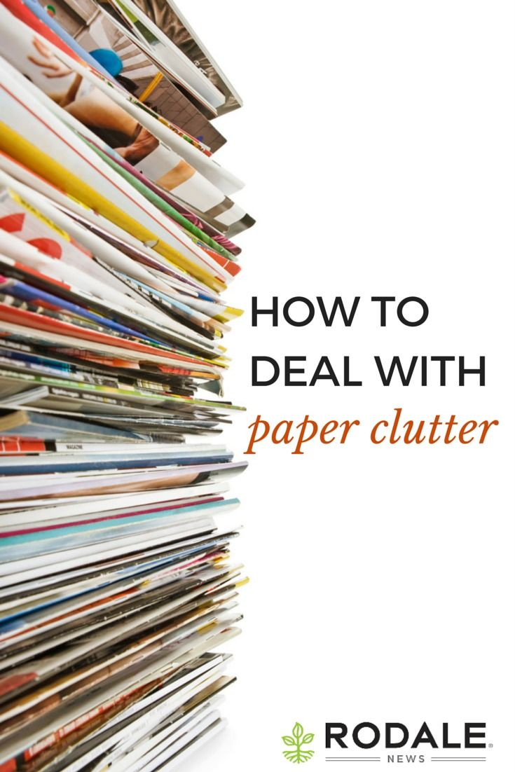 Tackle the paper clutter problem before you even step foot in your door with tips from Peter Walsh.