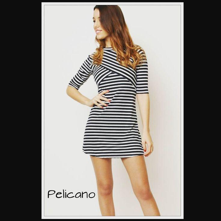 Vestidos marineros para esta primavera...#byPelícano #rayasmarineras  by pelicano_moda