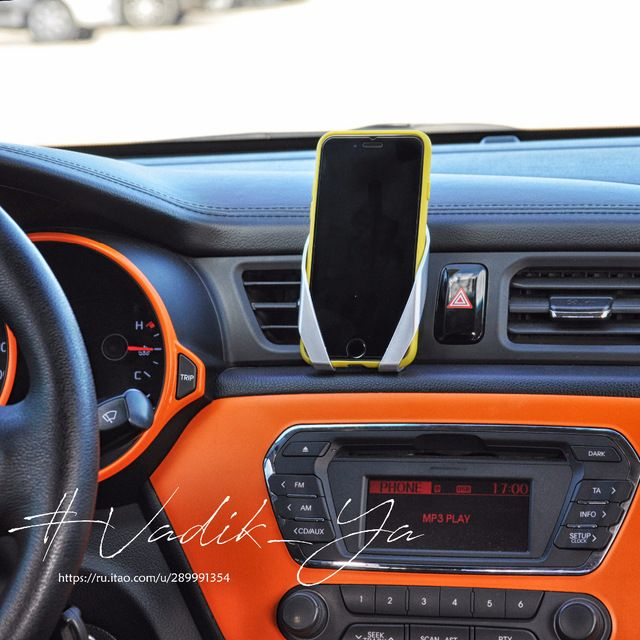 Только один аудио автомобильный держатель для iphone samsung автомобиль abs материал воздуха на выходе регулируемый автомобильный держатель телефона