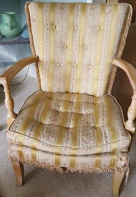 Vintage G Plan Armchair/Bedroom Chair EG Stamp c.1950s for Reupholstering