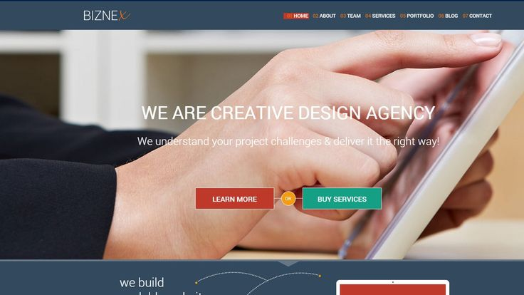 BizNex Business WP Responsive Theme. Download Free and Premium Templates. Mobile Tablet Ready. Blog, portfolio, agency, business, corporate website, sourc