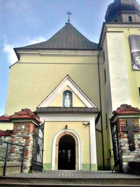 kościół spytkowice