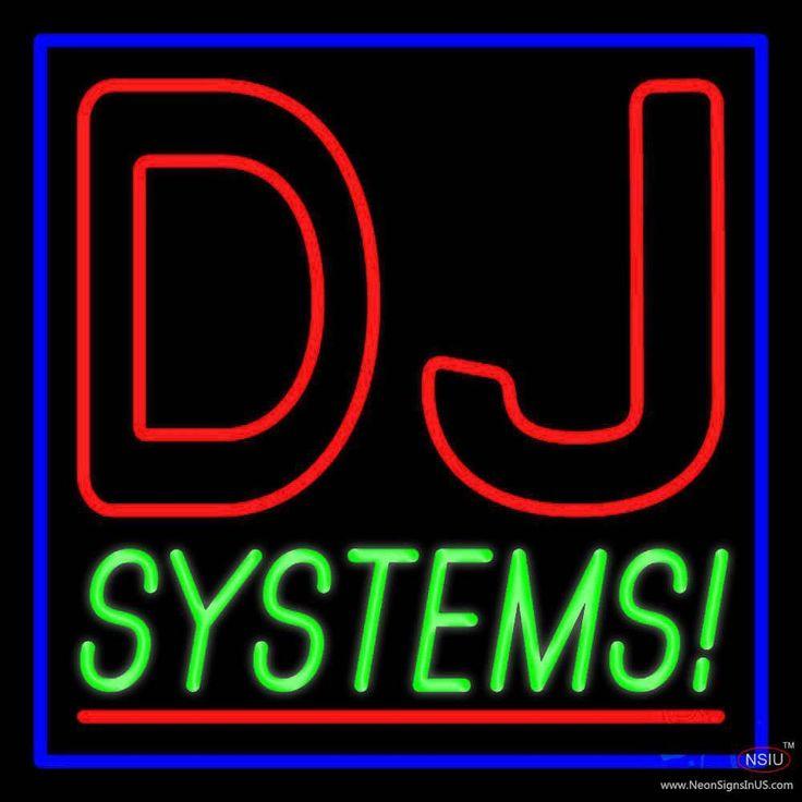 Dj Systems Handmade Art Neon Sign Dj systems, Neon signs
