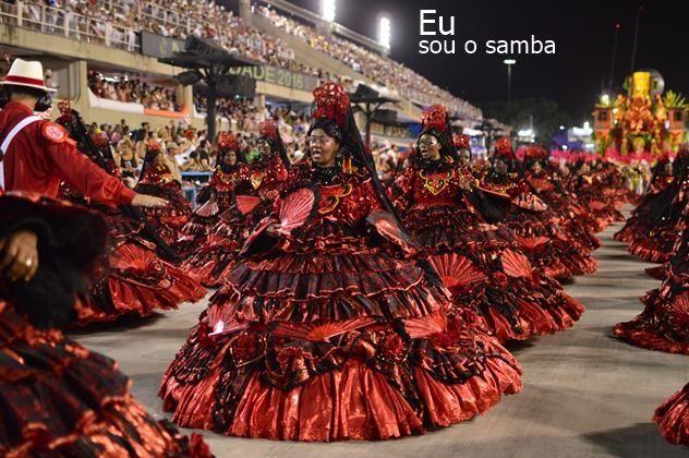 EU SOU O SAMBA! Foto: baianas do Sagueiro - carnaval 2016