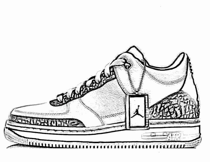 Jordan Shoe Coloring Book Elegant Jordan Shoes Coloring Pages Coloring Books Jordan Shoes Free Coloring Pages