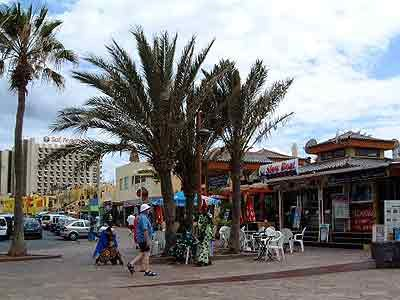 Playa de las Americas Bars Clubs and restaurants at Veronicas