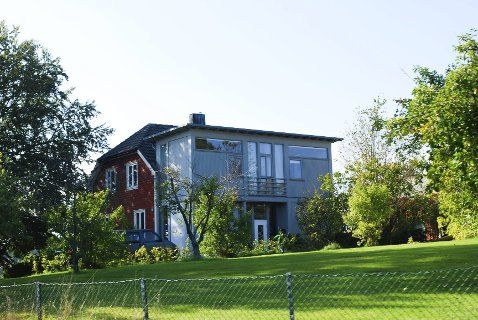 gammelt hus med moderne tilbygg - Google-søk