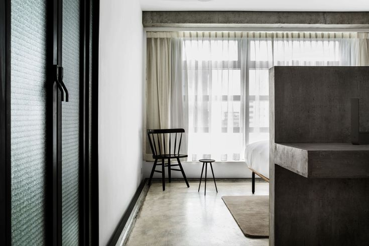 Inspired by the concepts of rarity, refinement and tranquility, TUVE is a 66-room boutique hotel designed by Hong Kong studio, Design Systems.
