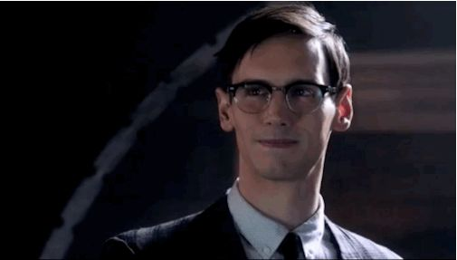 """Edward Nygma aka The Riddler (Cory Michael Smith): 