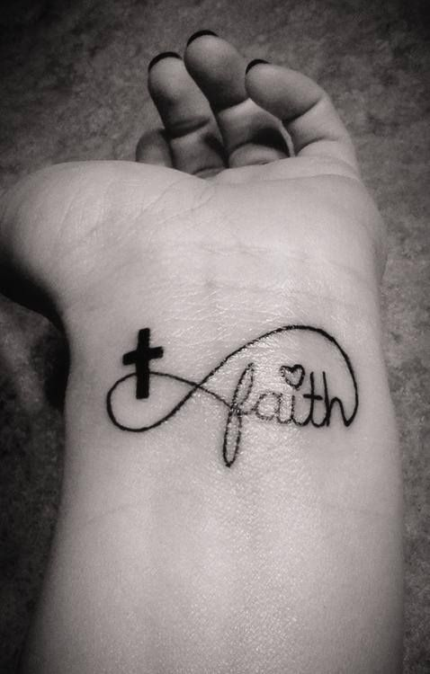 believe infinity tattoo with feather - Google Search