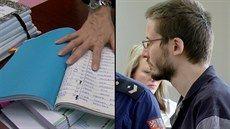 Odsouzený Lukáš Ludvík plánoval čtyři vraždy na papírech v modrých deskách, ty...