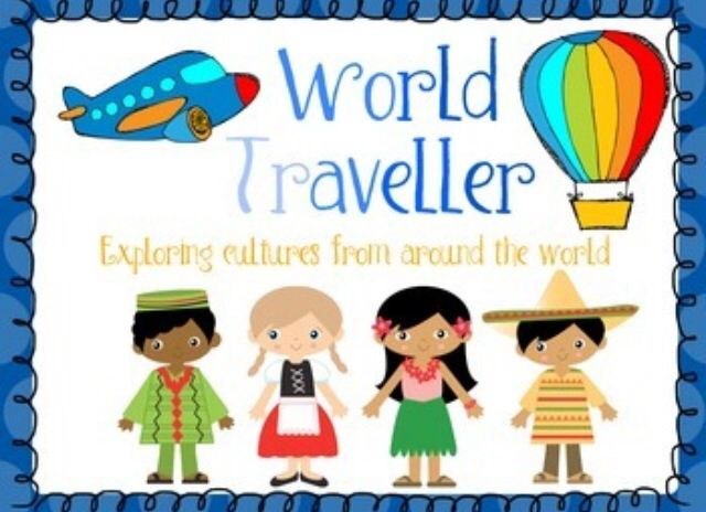 World Traveller Travel to ten different countries with new friends to learn about different cultures around the world. It also includes literacy activities teaching about peace and acceptance of other peoples differences. There are also some math activities including different forms of transportation.